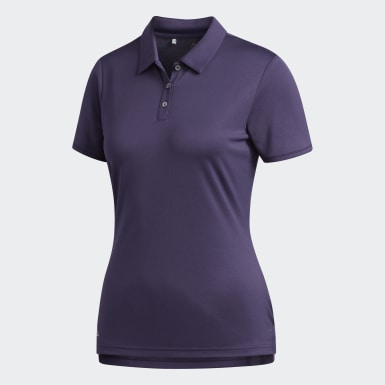 Playera Polo Tournament Violeta Mujer Golf