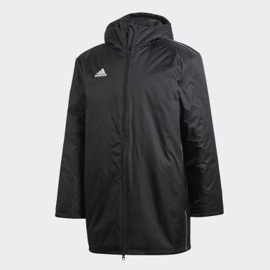 Chaqueta Core 18 Stadium Negro Hombre Training