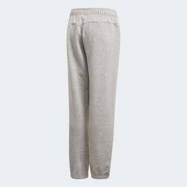 Pantaloni Essentials Linear Grigio Ragazzo Athletics