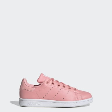 Kids Originals Pink Stan Smith Shoes