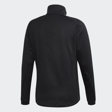 Muži TERREX čierna Flísová bunda Terrex Stockhorn