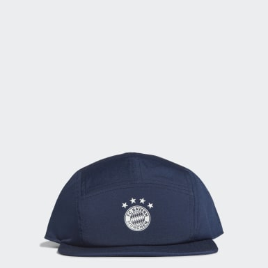 Fotboll Blå FC Bayern Five-Panel Cap