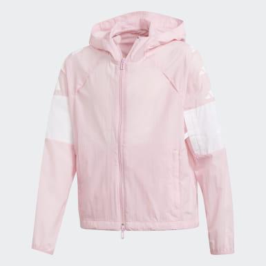 veste adidas rose enfant