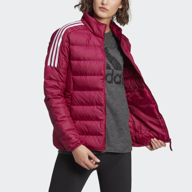 Women Urban Outdoor Purple Essentials Down Jacket