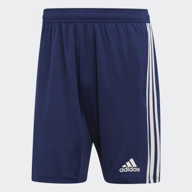 Pantalón corto entrenamiento Tiro 19 Azul Hombre Training