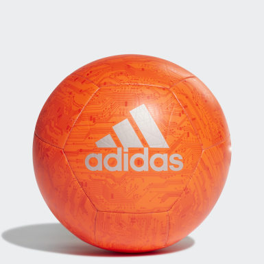 Men's Soccer Orange adidas Capitano Ball