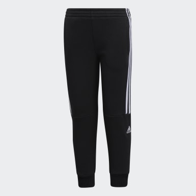 Children Training Black Core Badge Joggers