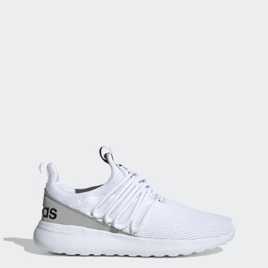 Men's Essentials White Lite Racer Adapt 3.0 Wide Shoes