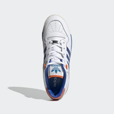 Rivalry Low-sko med Swarovski®-krystaller Hvit