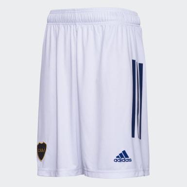 Shorts de Básquet Visitante Boca Juniors Blanco Hombre Básquet