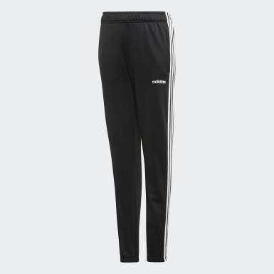 Kids Training Black Cardio Pants