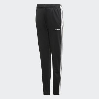 Pantalón Cardio - Pretina Media Negro Niña Training