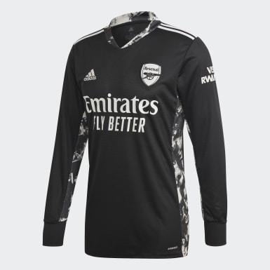 Camisola Principal de Guarda-redes do Arsenal Preto Homem Futebol