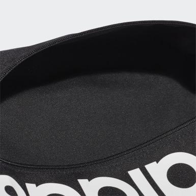 Training Siyah Linear Logo Ayakkabı Çantası