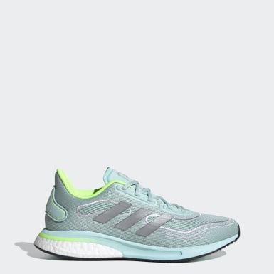 Women Running Green Supernova Shoes