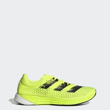 Sapatos Adizero Pro Amarelo Homem Running