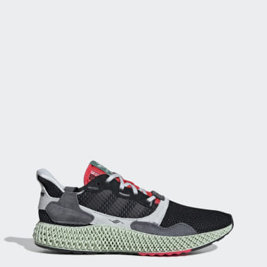 Men's Originals Black ZX 4000 4D Shoes