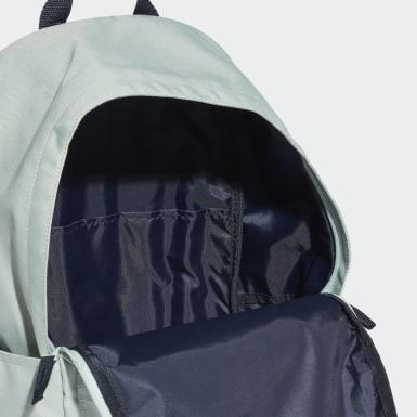 Handball Turquoise Classic 3-Stripes Pocket Backpack