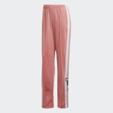 Pants Adibreak - Corte Medio Rosa Mujer Originals