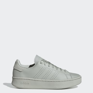 Women Sport Inspired Grey Advantage Bold Shoes