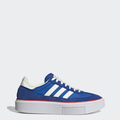 Ženy Originals modrá Tenisky adidas Sleek Super 72