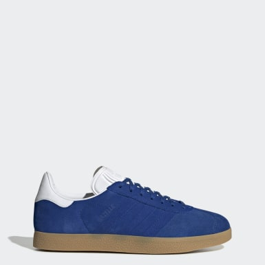 Men Originals Blue Gazelle Shoes