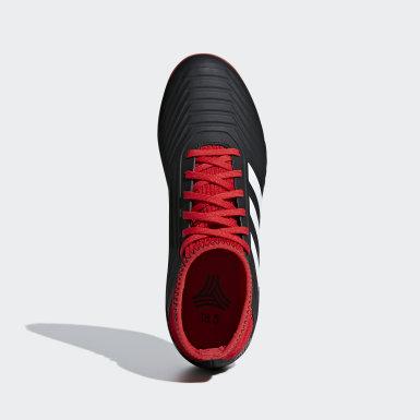 Barn Fotboll Svart Predator Tango 18.3 Turf Fotbollsskor