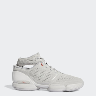 Men's Basketball Grey Adizero Rose 1 Concrete Shoes
