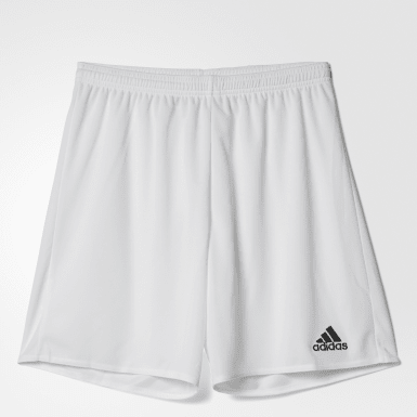 Men's Soccer White Parma 16 Shorts