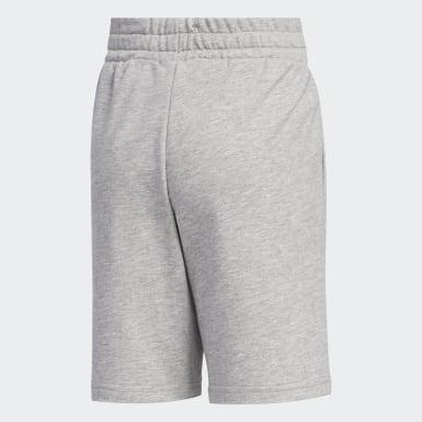 Boys Athletics Grey Knit Shorts