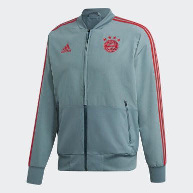 Chaqueta Presentación FC Bayern Verde Hombre Fútbol