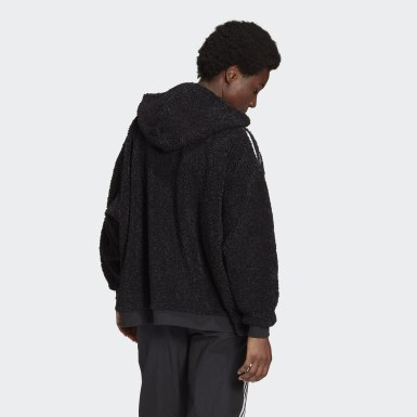 Dam Originals Svart Full-Zip Hoodie