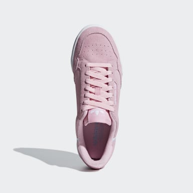 Dames Originals Roze Continental 80 Schoenen