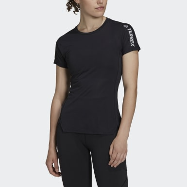 Frauen TERREX TERREX Agravic All-Around T-Shirt Schwarz