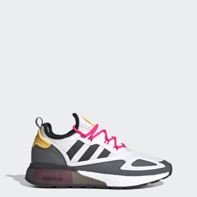 Sapatos ZX 2K Boost Ninja Branco Originals