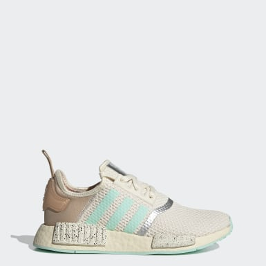 Women Originals White NMD_R1 The Child - Find Your Way Shoes
