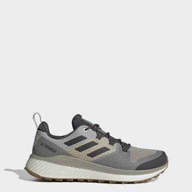 Men TERREX Grey Terrex Folgian Hiker Hiking Shoes