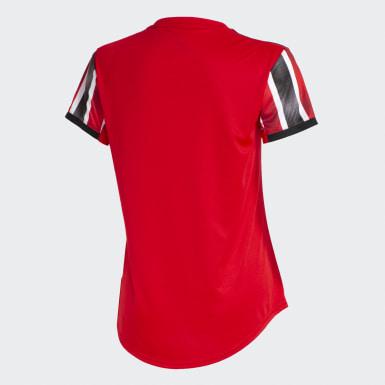 Camisa São Paulo FC 2 Vermelho Mulher Futebol