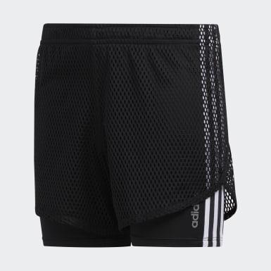 Open Mesh Shorts