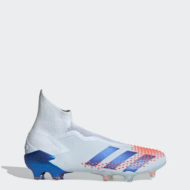Voetbal blauw Predator Mutator 20+ Firm Ground Voetbalschoenen