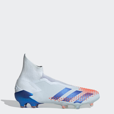 Football Blue Predator Mutator 20+ Firm Ground Boots
