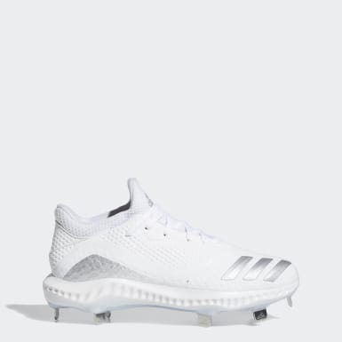Women's Softball White Icon V Bounce Cleats