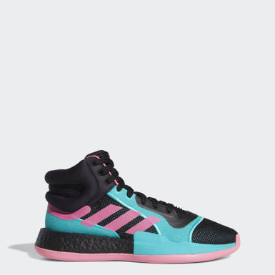 Men Basketball Black Marquee Boost Shoes
