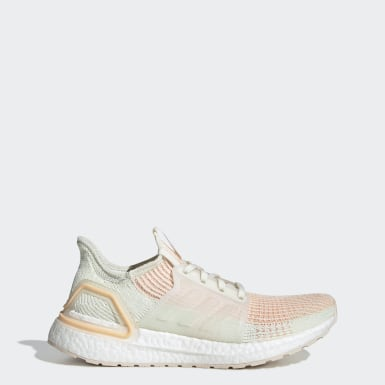 Kadın Koşu Bej Ultraboost 19 Ayakkabı