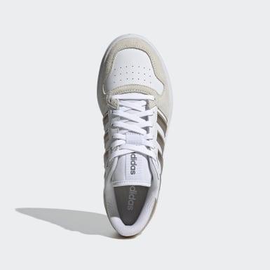 Frauen Tennis Breaknet Plus Schuh Weiß