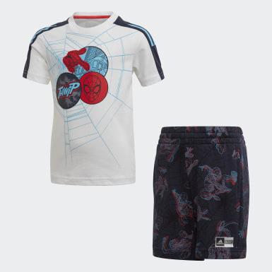 белый Комплект: футболка и шорты Spider-Man