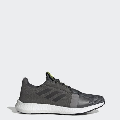 Running Grey Senseboost Go Shoes