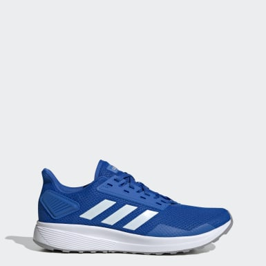 Men Running Blue Duramo 9 Shoes