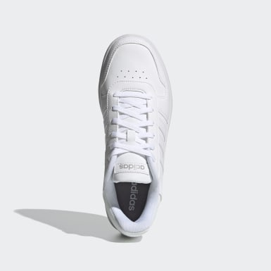 Women's Essentials White Hoops 2.0 Shoes