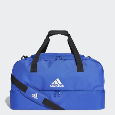 Bolso Deportivo Tiro Mediano Azul Fútbol